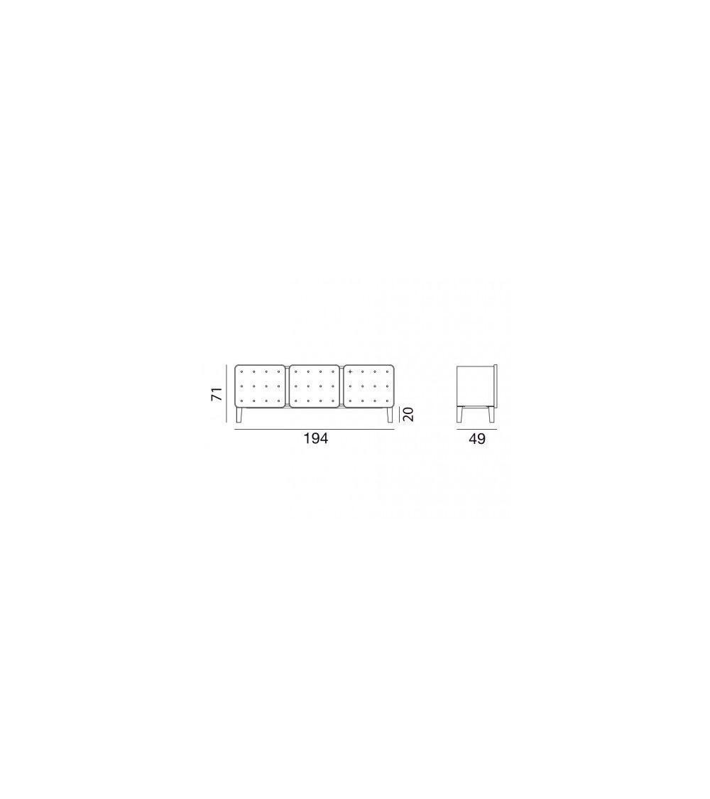 Aparador Gervasoni Brick 68/69