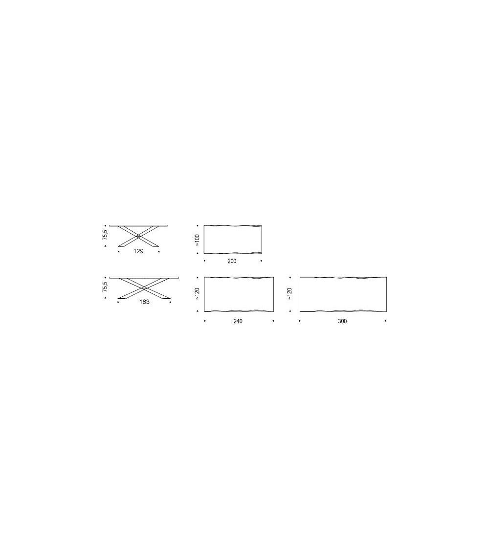 Mesa Cattelan Spyder Wood (versione S)