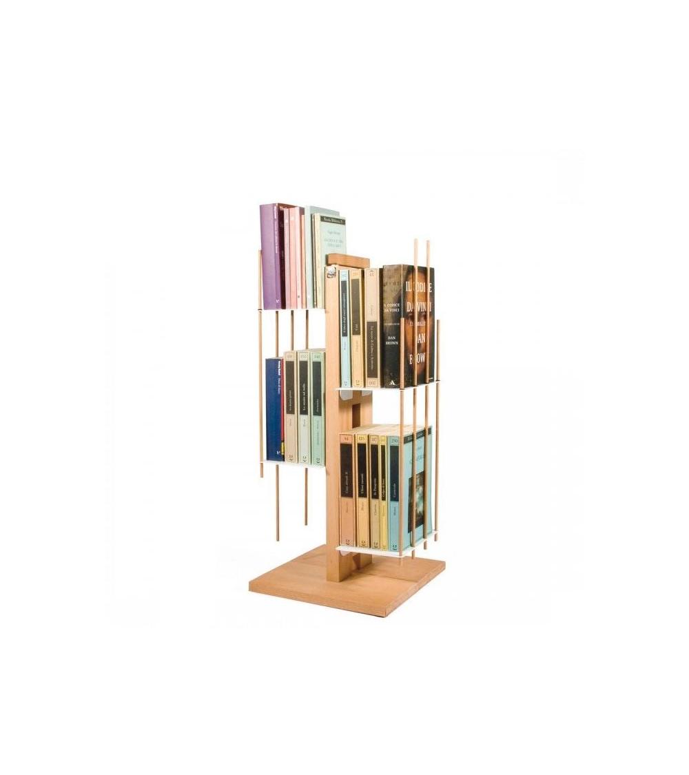 Libreria Le zie di Milano Zia Veronica a colonna 60 cm