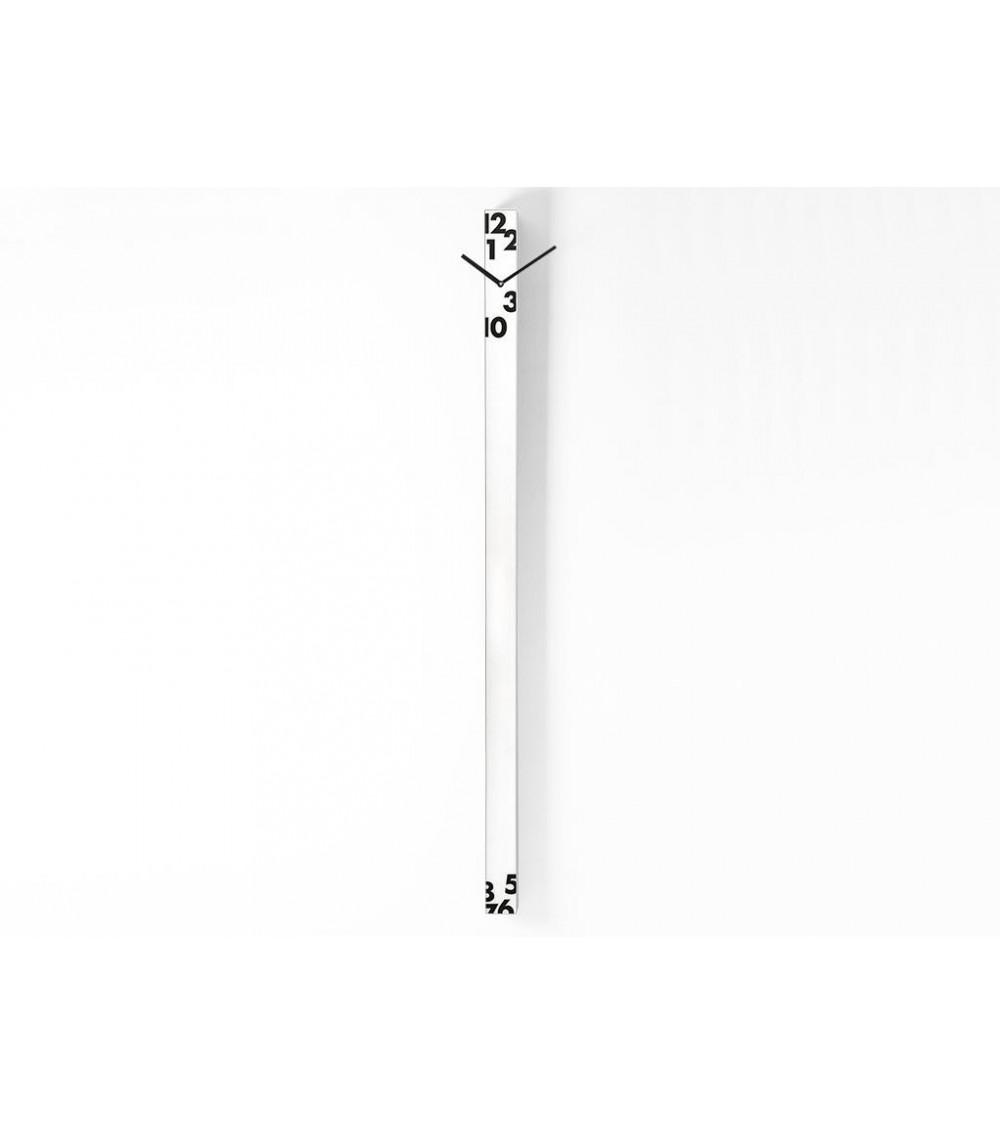 Orologio da parete bianco Progetti 25th year iltempostringe