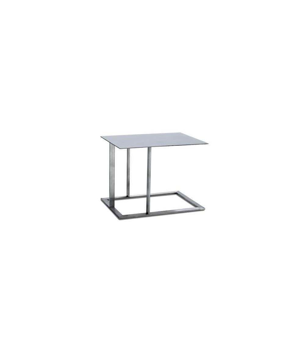 Tavolino in acciaio inox Arketipo Loft