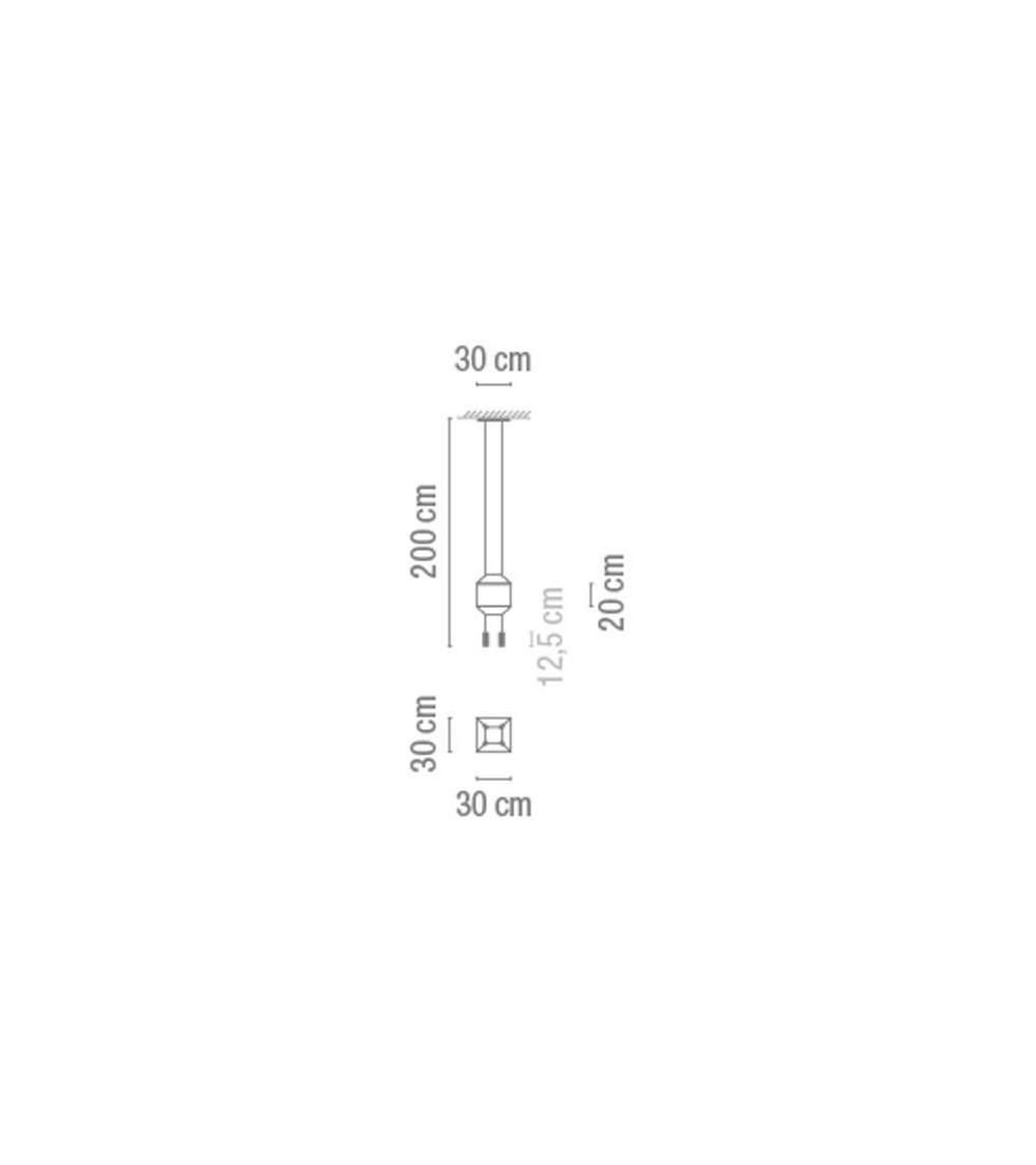 Pendelleuchte Vibia Wireflow 4Led