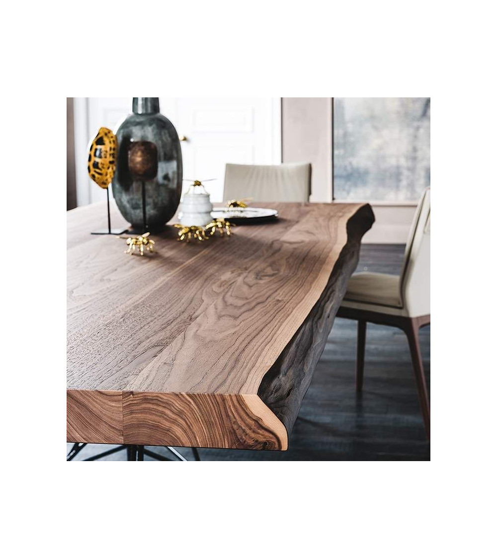 Tavolo design Cattelan Gordon Deep Wood