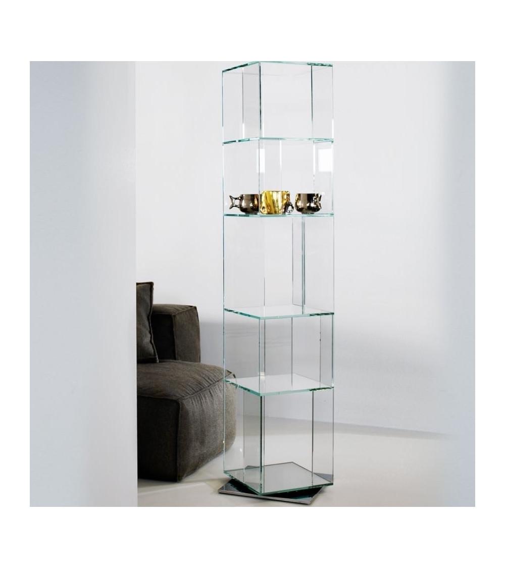 Bonaldo Libreria Cubic Glass