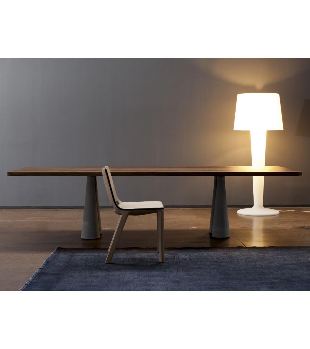 table de conception de base en béton Bonaldo Still