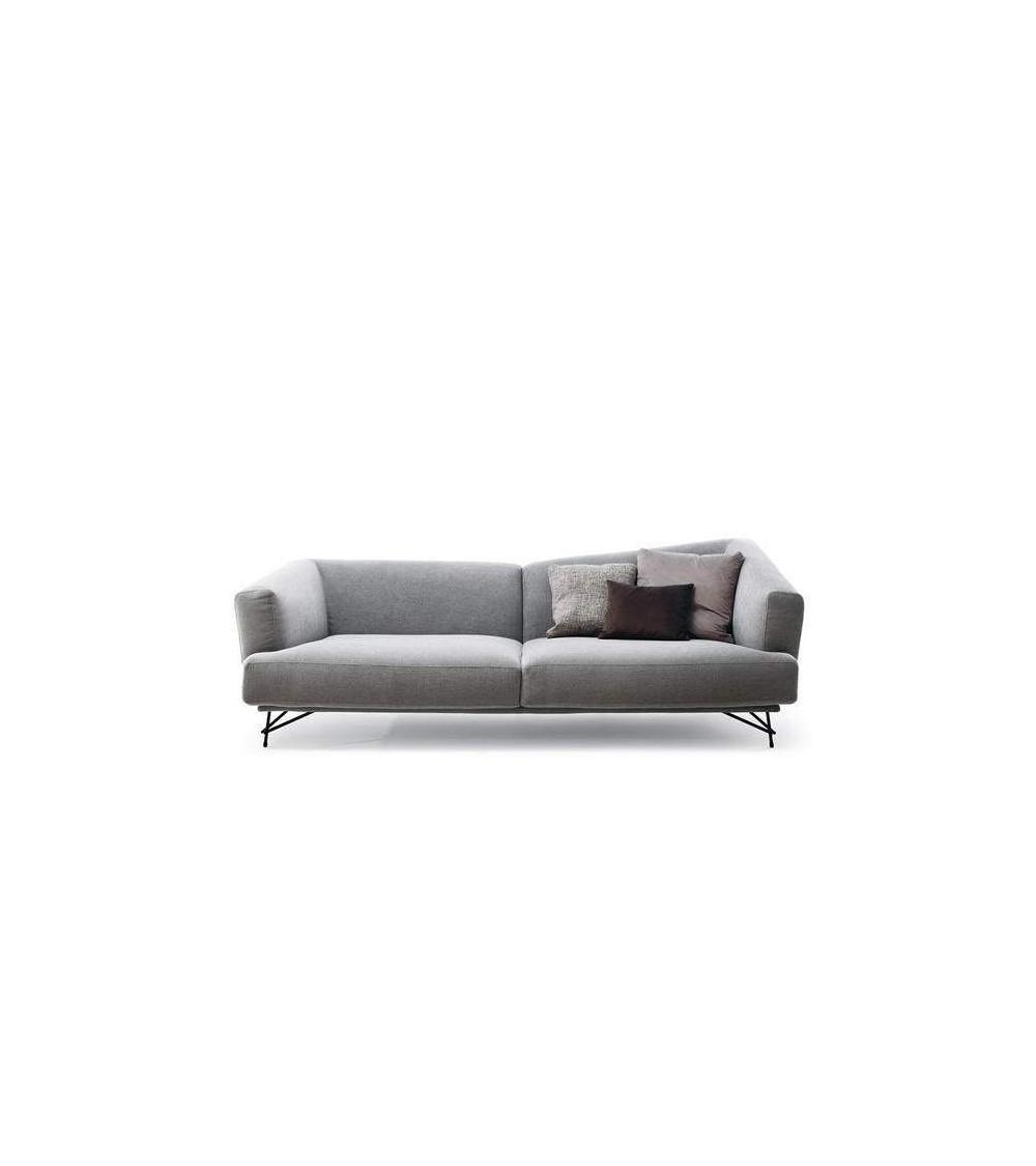 Sofa Ditre Italia Lennox Tissu 2 places