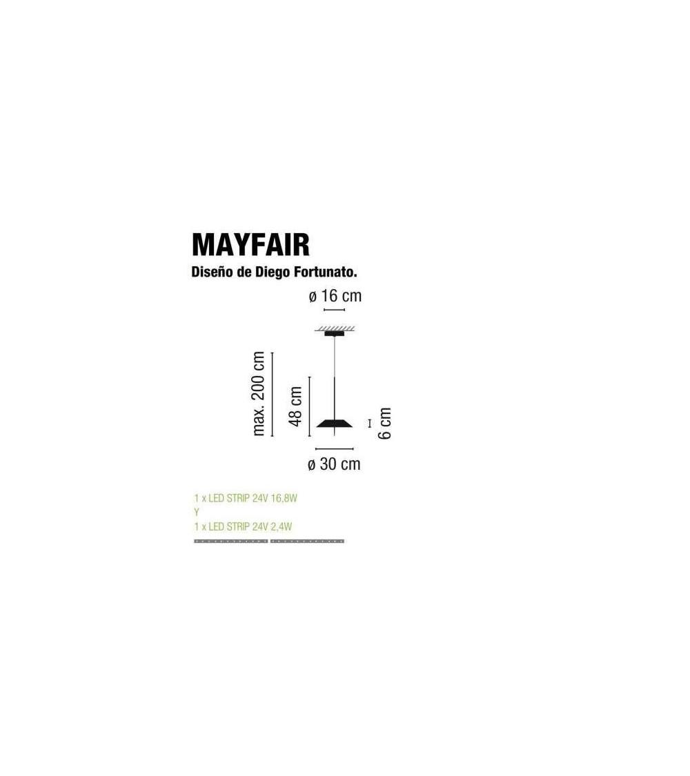 Pendelleuchte Vibia Mayfair 5525