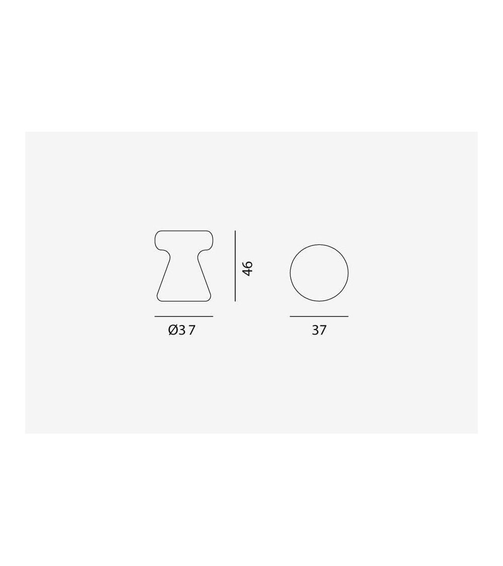 Table de salon/Pouf Gervasoni Inout 44