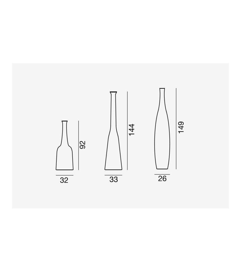 vaso di design in ceramica gervasoni inout 91/92/93