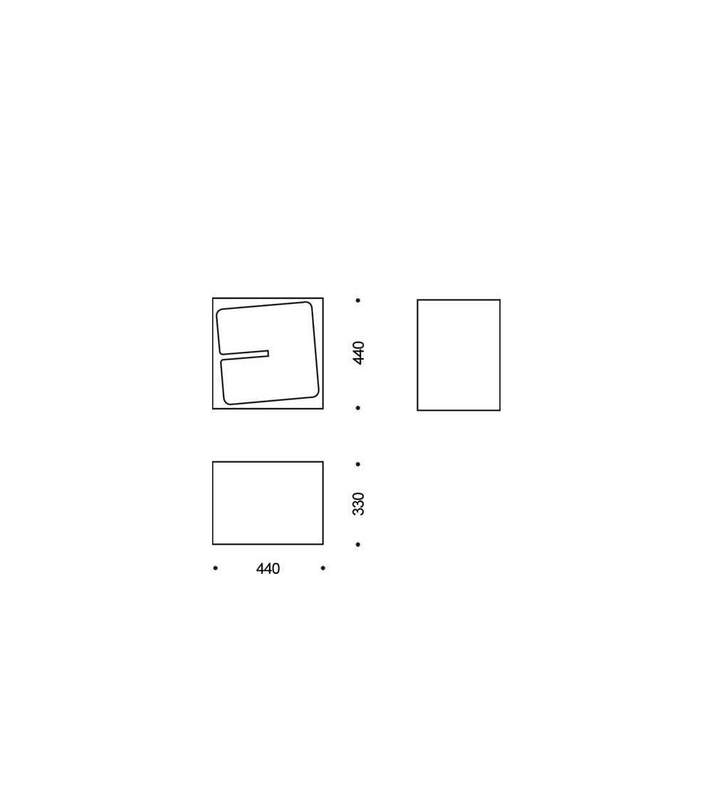 Biblioteca modular B-Line Quby