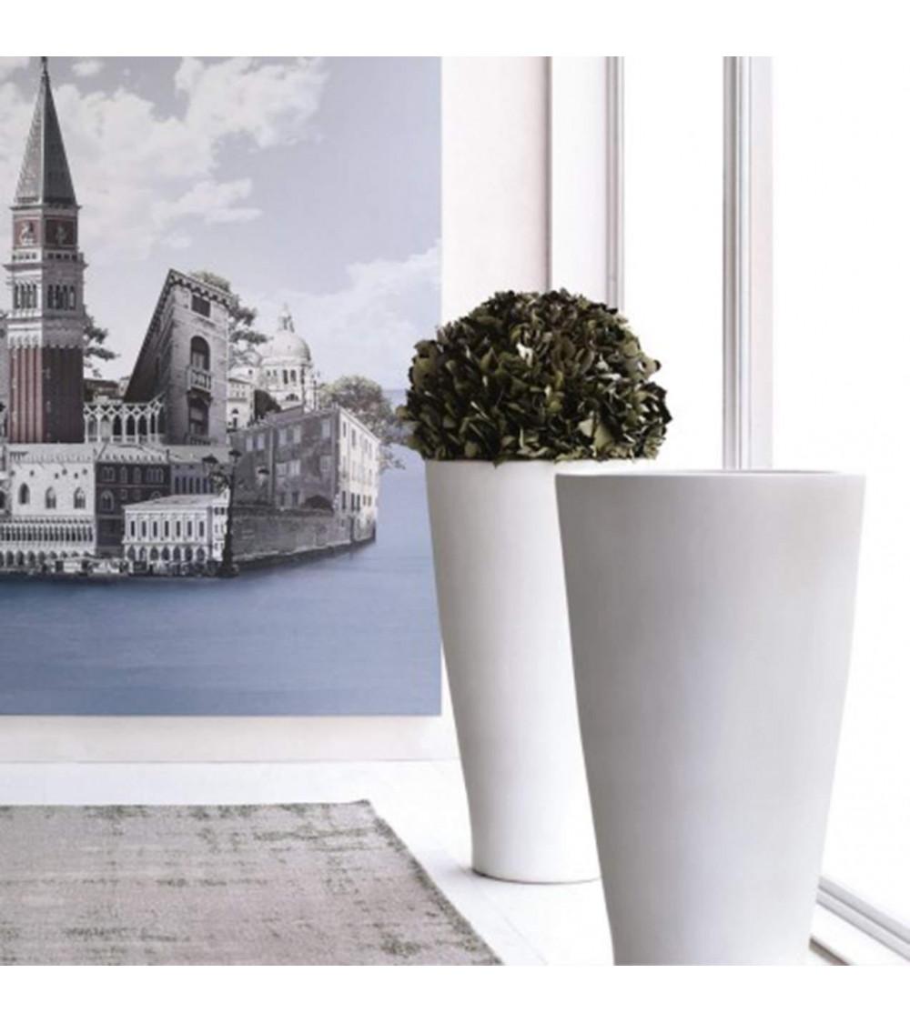 ceramic vase cono grande design adriani & rossi