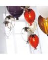 modern glass chandeliers adriani & rossi balloon up