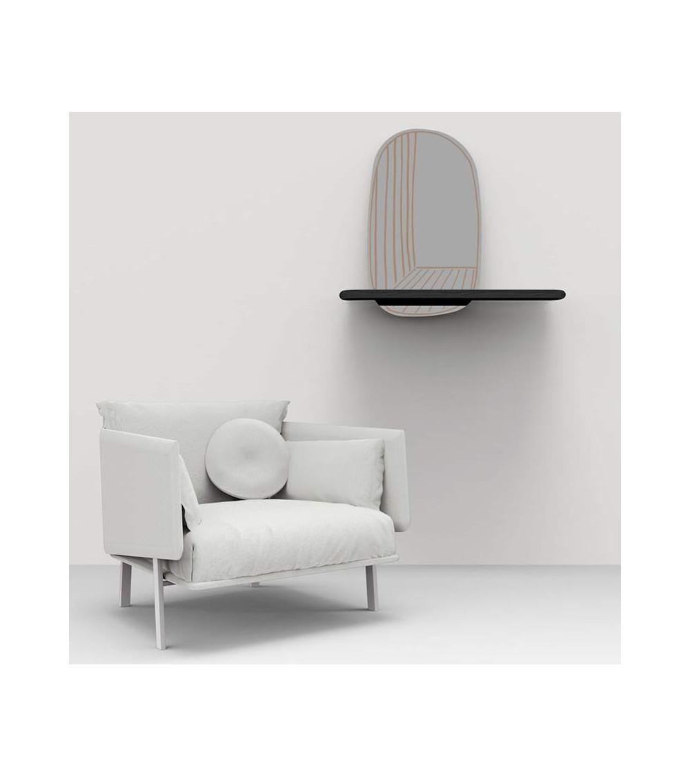 Mirror Bonaldo New Perspective with shelf