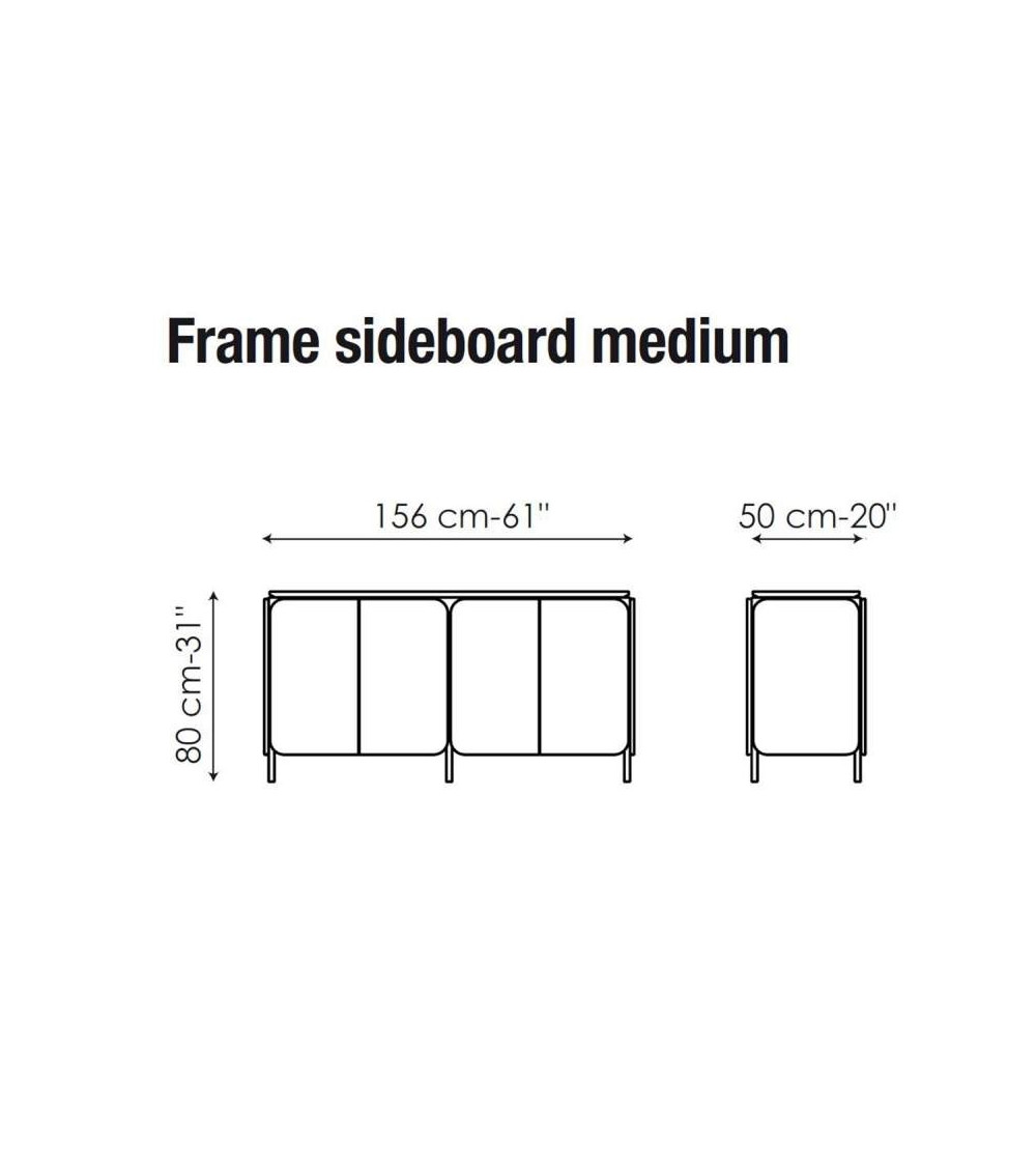 Sideboard Bonaldo Frame sideboard medium