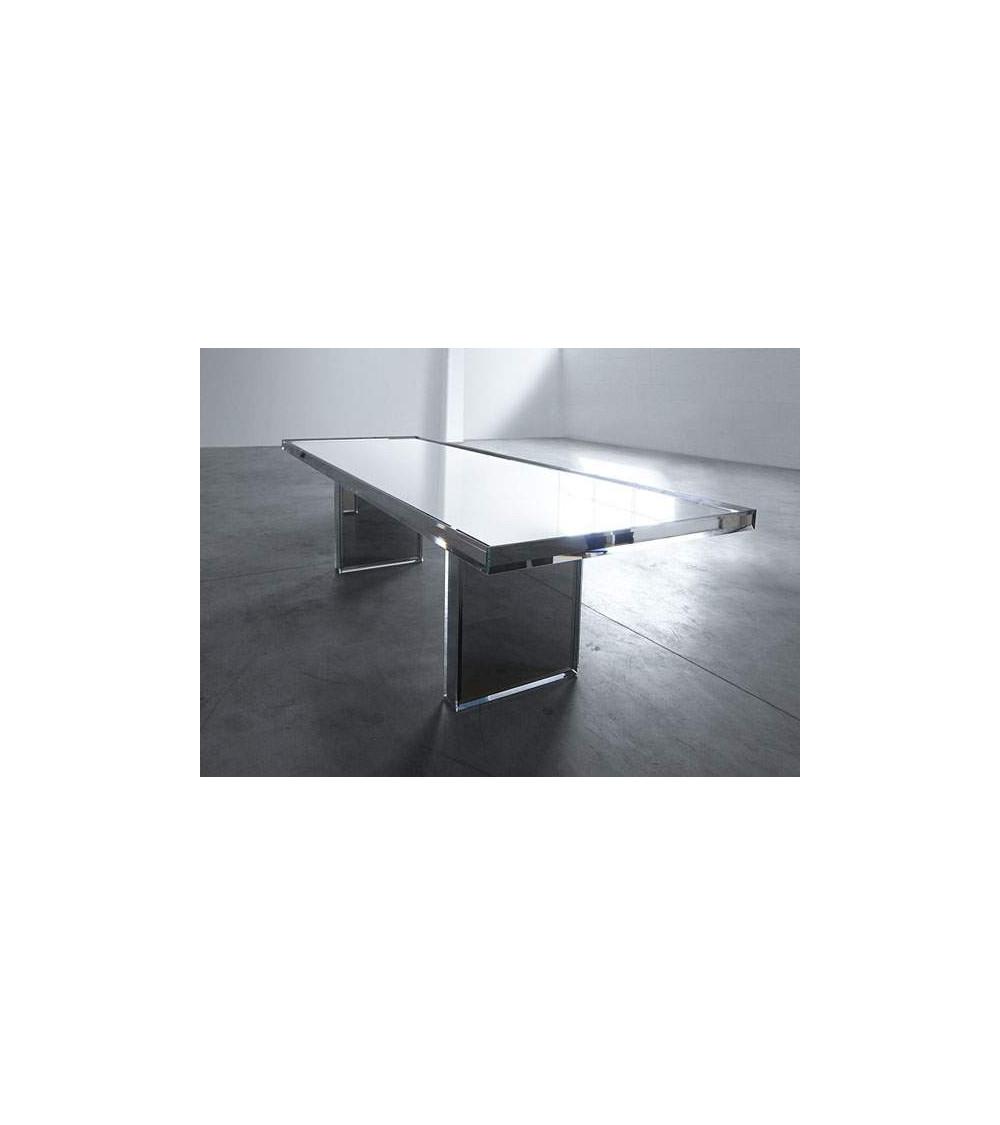 Glas Italia Tavolo Prism mirror table