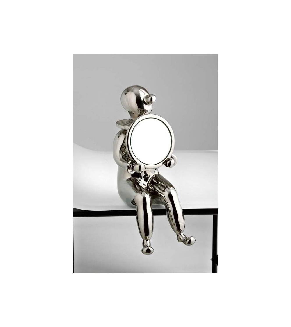 Bosa Skulptur Clown with mirror