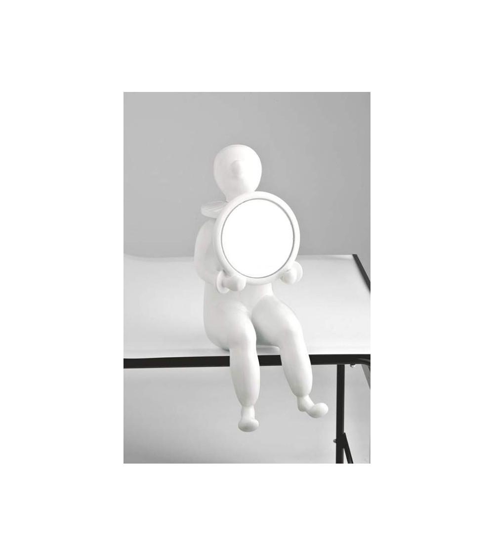 Skulptur Bosa Clown with mirror