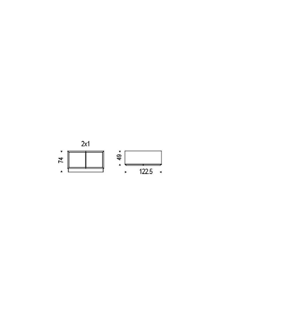Details Sideboard Cattelan Hilton 2x1