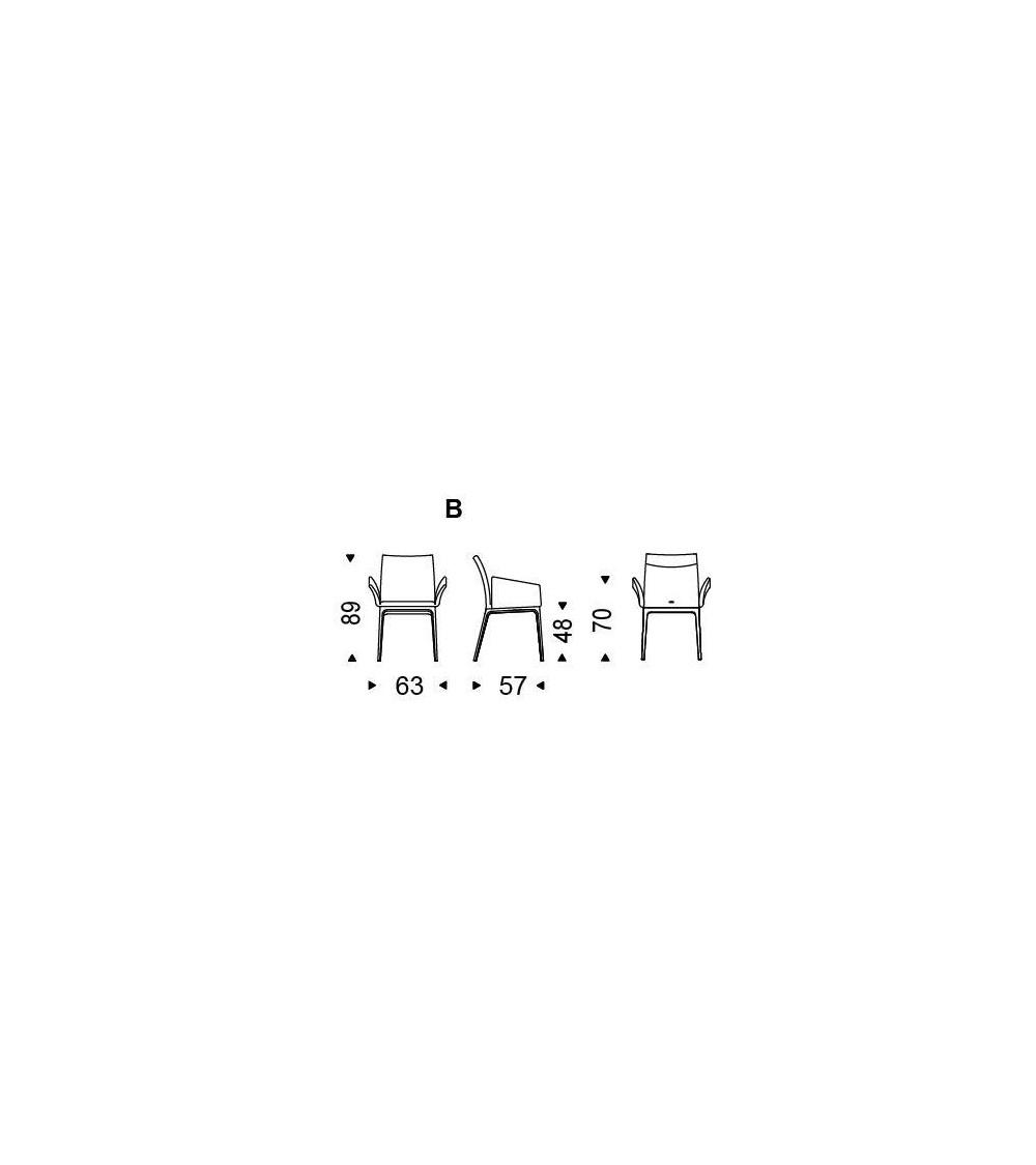 sedia-con-braccioli-cattelan-arcadia-misure