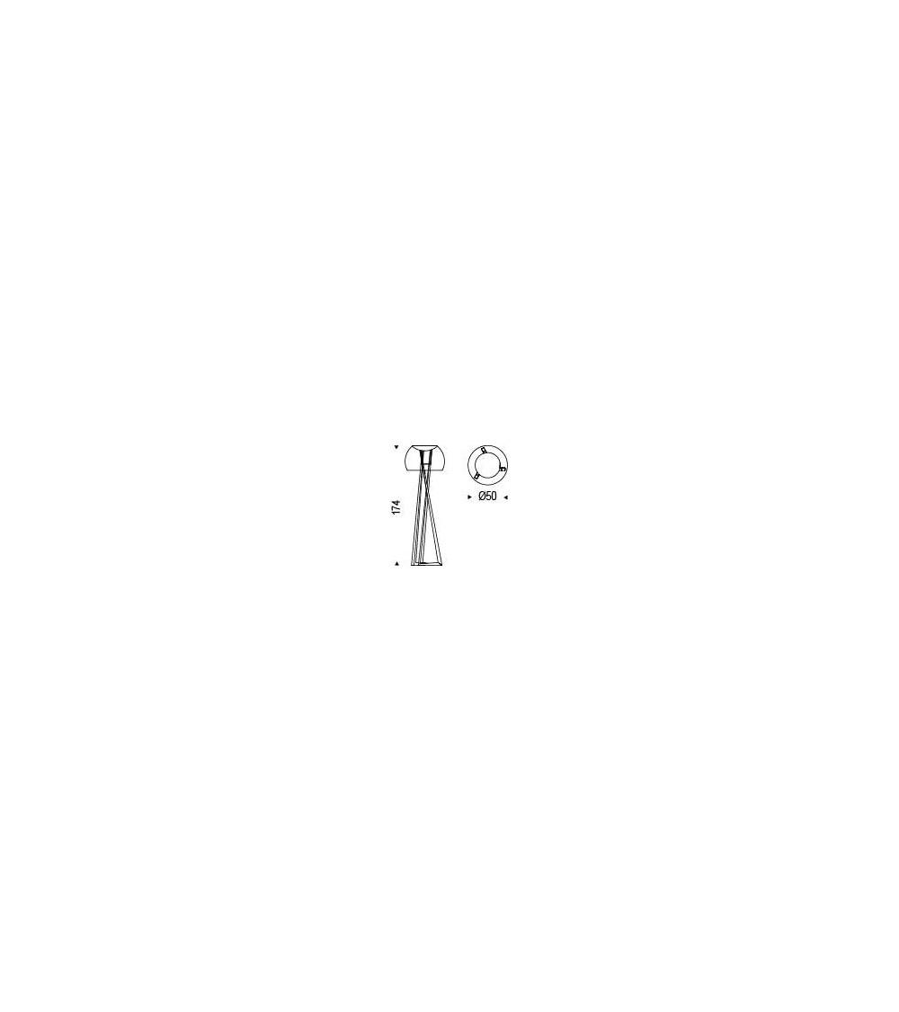 lampe de sol-cattelan-compass