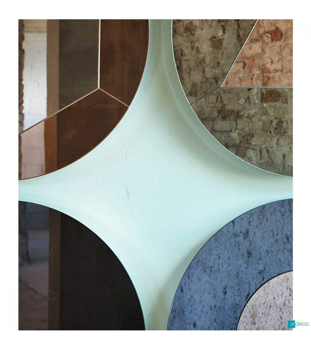 Specchio esagonale Miniforms Tropicana