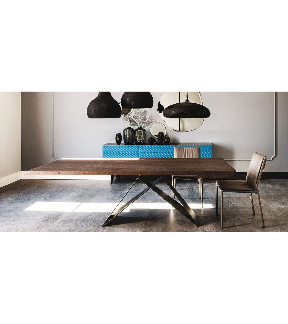Table cattelan Premier Wood Drive