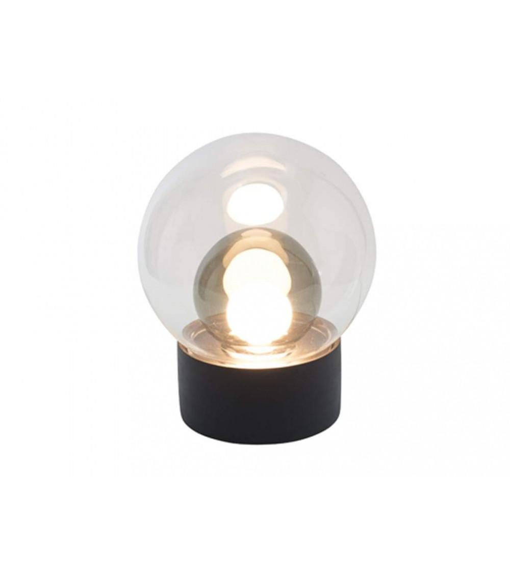 Lampada da tavolo Base nera Boule Small