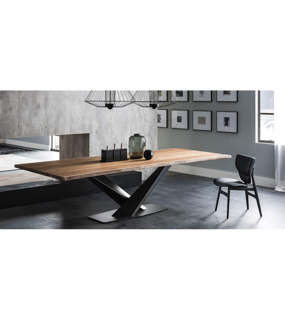 Table Cattelan Stratos Wood A