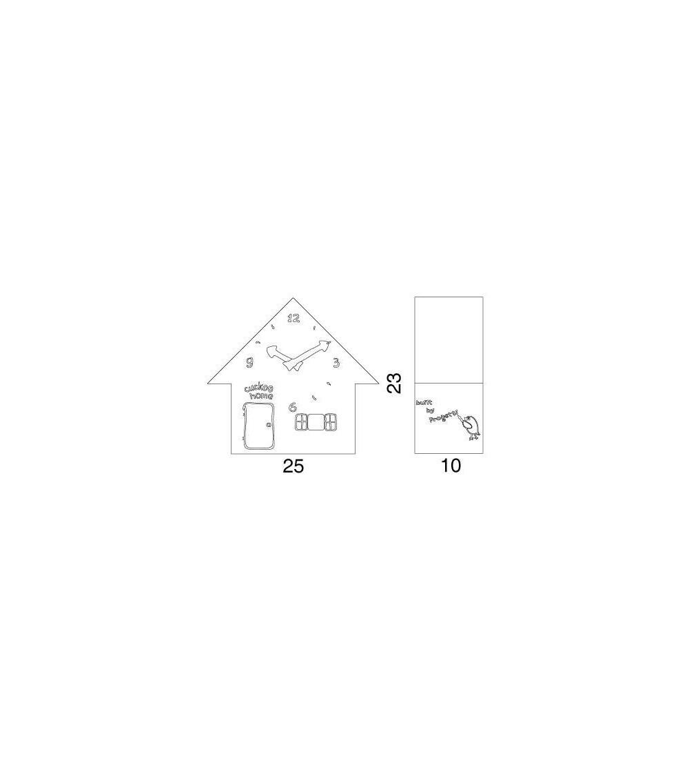 Scheda tecnica Orologio Progetti 25th year Cuckoo Home