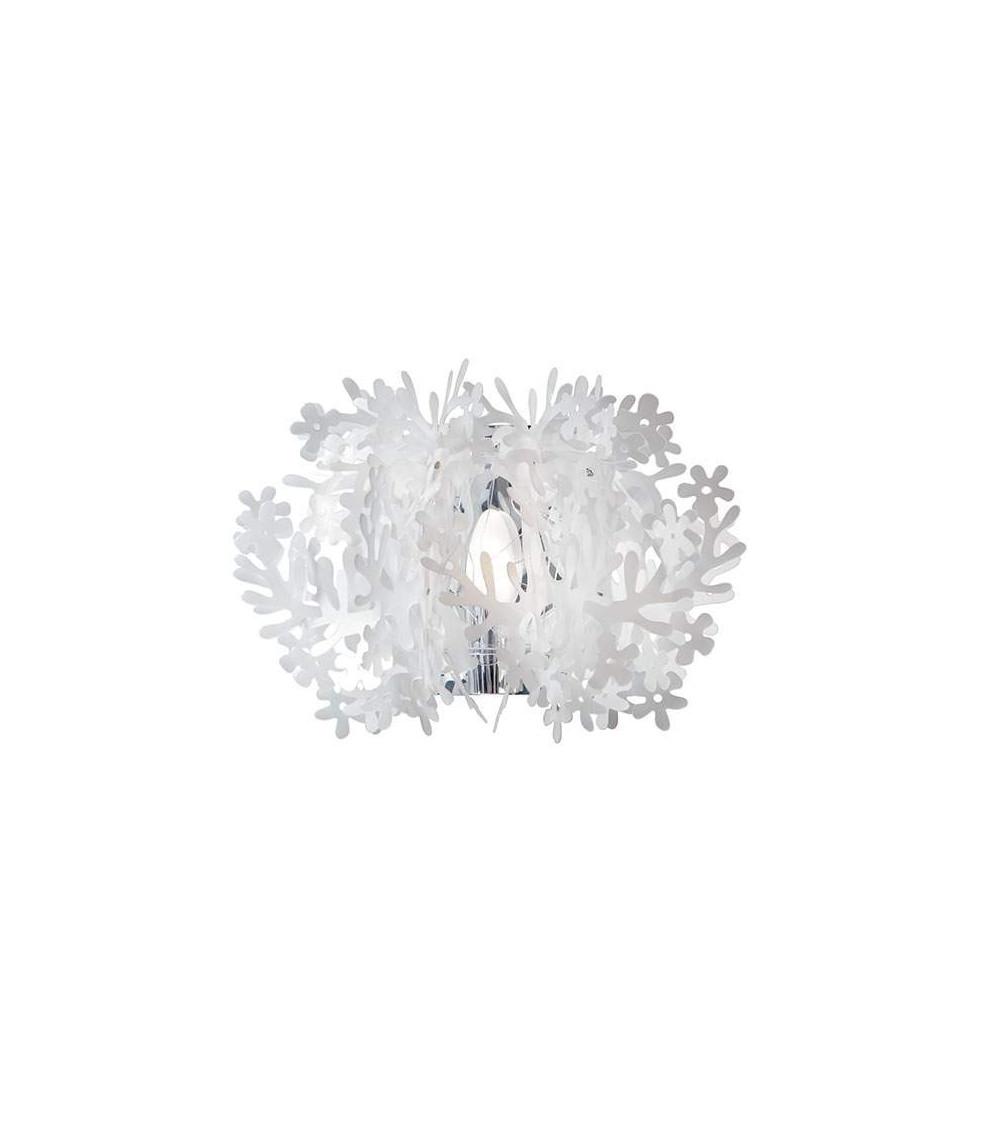 Lampada da parete Bianco Slamp Fiorella Mini