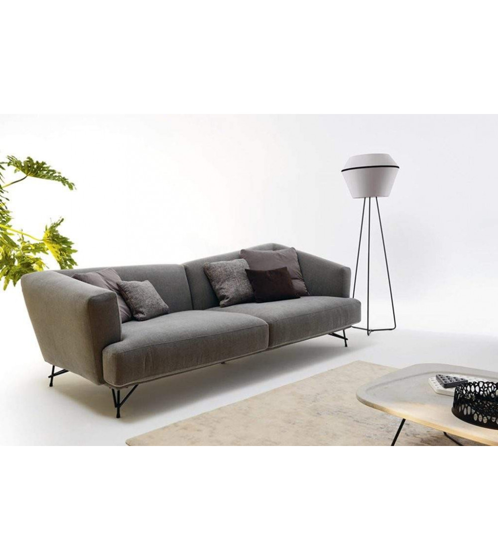Sofa Ditre Italia Lennox 2-Sitzer Stoff