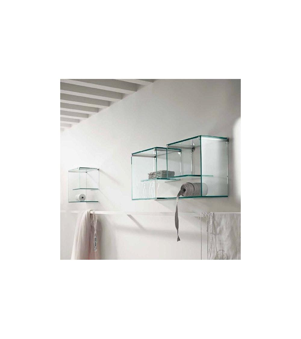 Mensola in vetro Tonelli Alfabeta