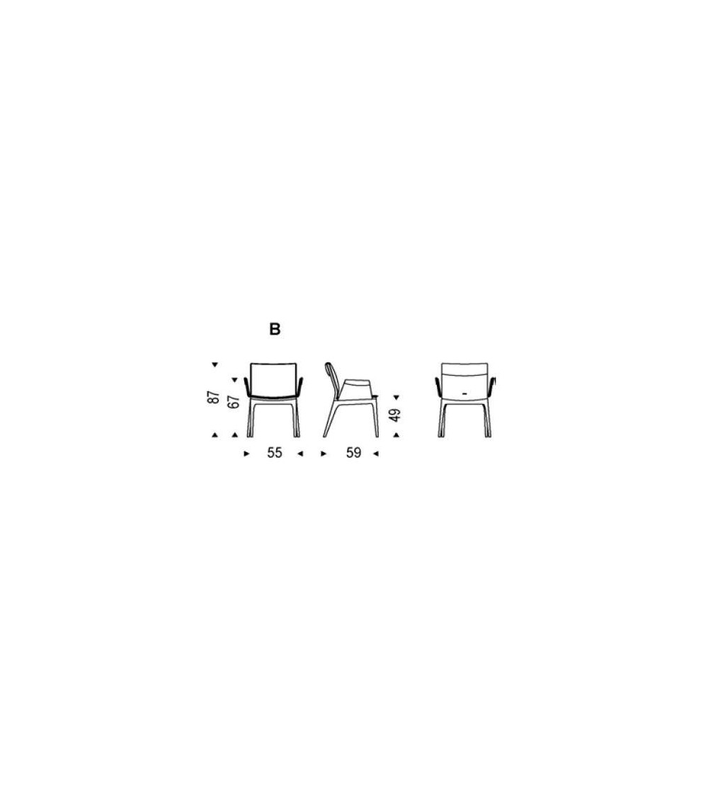 Chair Cattelan Tosca B