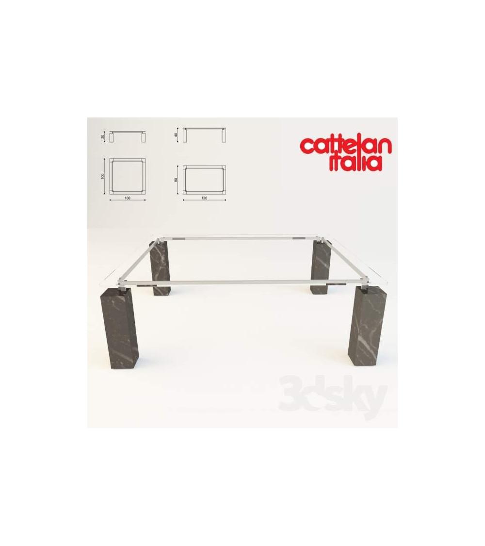 Mesa de centro Cattelan Dielle H30