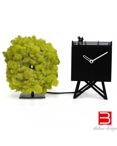 Clock Progetti 25th year Birdwatching
