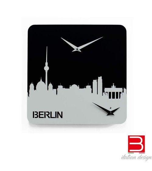 Clock Progetti 25th Time travel - Berlin