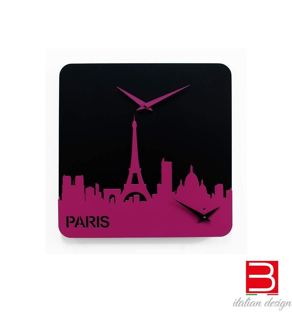 Horloge Progetti 25th Time travel - Paris