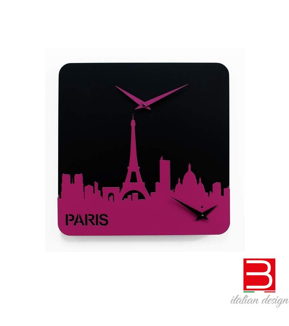 Clock Progetti 25th Time travel - Paris