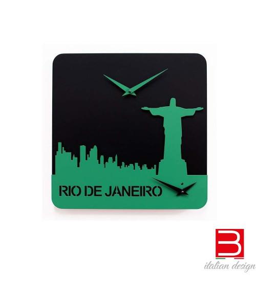 Clock Progetti 25th Time travel - Rio de janeiro