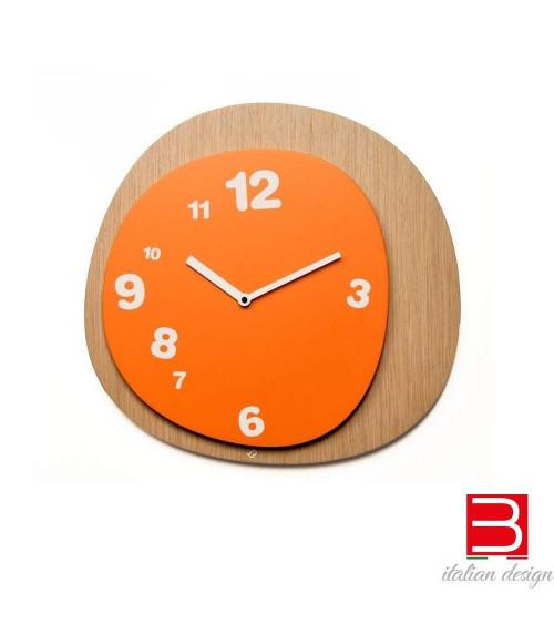 Reloj de pared Progetti 25Th Woodie