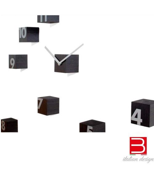Reloj de pared Progetti 25th year rnd_time wengè