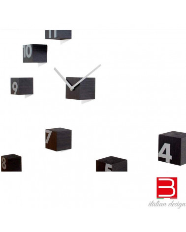 Wall clock Progetti 25th year rnd_time wengè