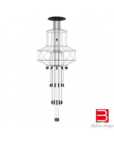 Hängeleuchte Vibia wireflow chandelier 0375