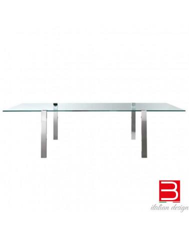 Table Tonelli Livingstand in vetro extrachiaro