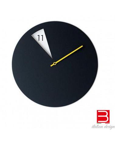 Horloge murale Sabrina Fossi FreakishCLOCK black-yellow