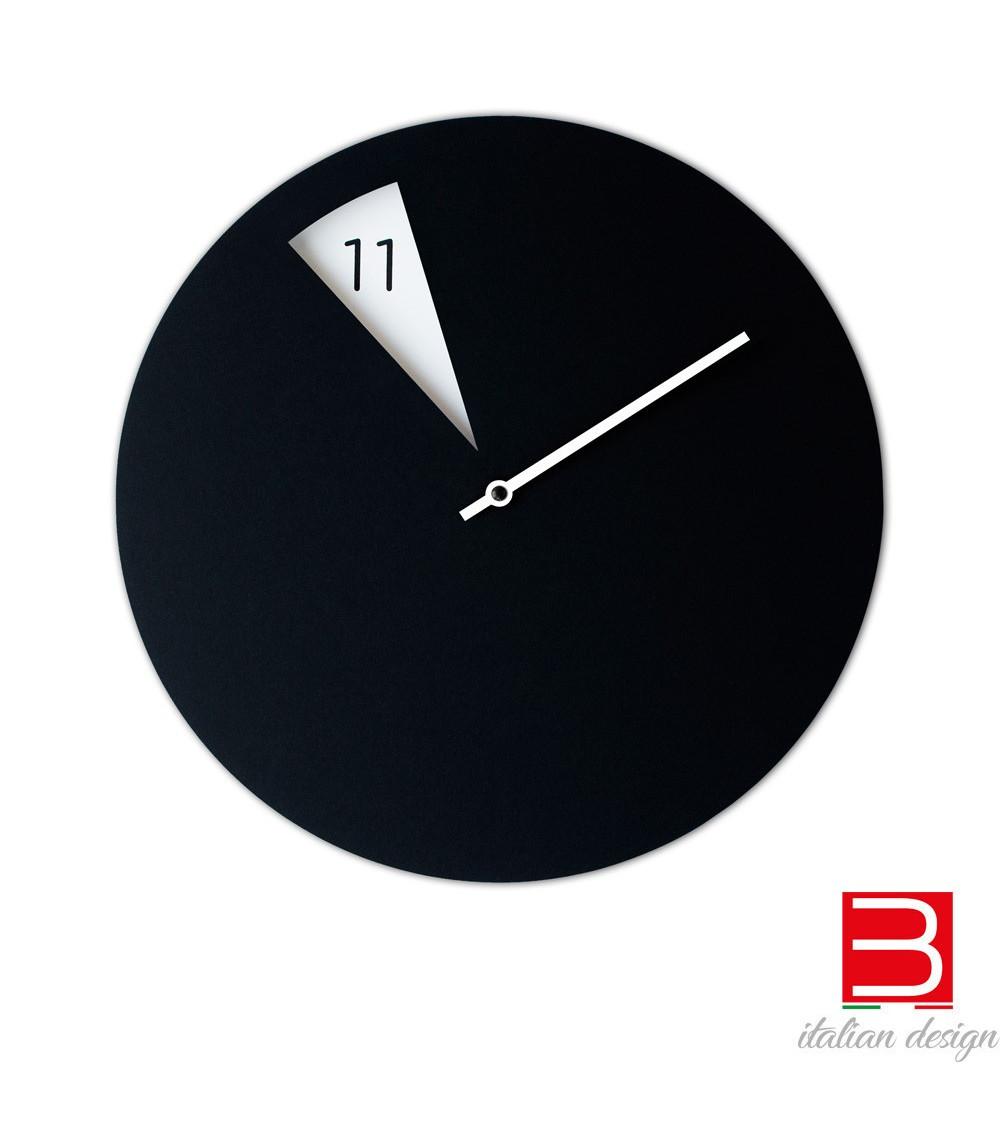 Orologio da parete Sabrina Fossi FreakishCLOCK black-white
