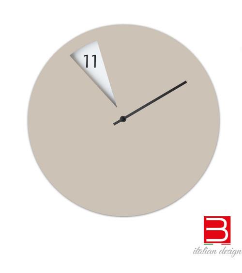Wall clock Sabrina Fossi FreakishCLOCK beige