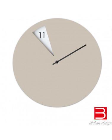 Reloj de pared Sabrina Fossi FreakishCLOCK beige