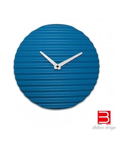 Wall clock Sabrina Fossi Wave Clock blue