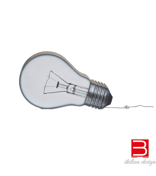 Lampada da terra in cartone Kubedesign Bulb